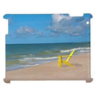 A Beach Somewhere and Beach Chair iPad Case