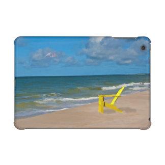 A Beach Somewhere and Beach Chair iPad Mini Retina Cover