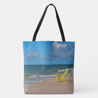 A Beach Somewhere and Beach Chair Tote Bag