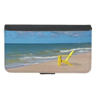 A Beach Somewhere and Beach Chair Wallet Phone Case For Samsung Galaxy S5