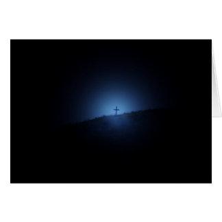 A beacon of light card