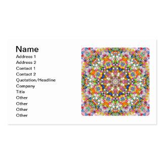 A Bead Mandala Business Card Templates