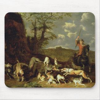 A Bear Hunt, 1655 Mouse Pad