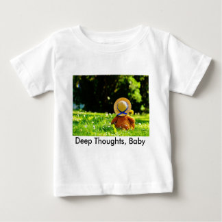 A Bear in Thought Baby T-Shirt