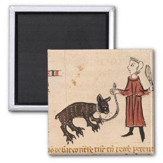 A Bear Keeper, from 'Decrets de Gratien' Refrigerator Magnet