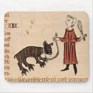 A Bear Keeper, from 'Decrets de Gratien' Mouse Pad