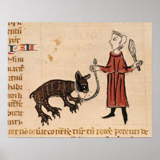 A Bear Keeper, from 'Decrets de Gratien' Poster