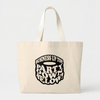 A Beard Is a Party Down Below Tote Bag