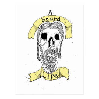 A Bearded Life Postcard