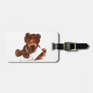 A Bears Story, written by Mr Ted Luggage Tag