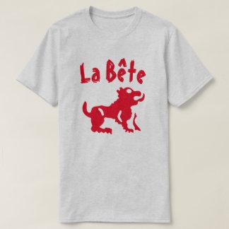 A beast with text La bête T-Shirt