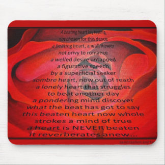 A Beating Heart Mouse Pad