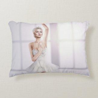 A Beautiful Ballerina Pillow