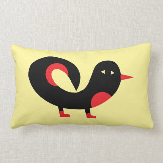 A Beautiful Bird On A Beautiful Pillow