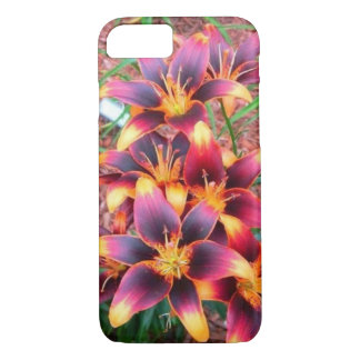 A Beautiful Bouquet of Daylilies iPhone 7 Case