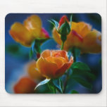 A beautiful bunch of roses and meaning mouse pads