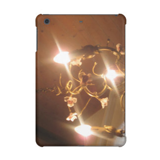 A beautiful chandelier inside a hotel room iPad mini covers