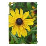 A beautiful close up of a yellow flower iPad mini case