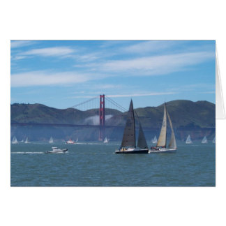 A Beautiful Day on San Francisco Bay Cards