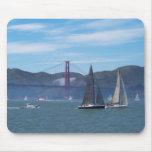 A Beautiful Day on San Francisco Bay Mousepads