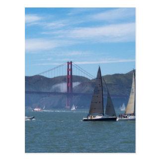 A Beautiful Day on San Francisco Bay Postcard