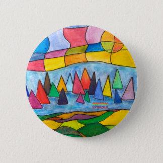A Beautiful Day Pinback Button