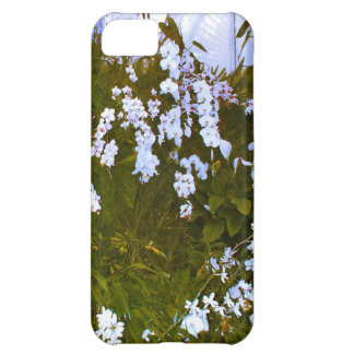 A beautiful display of exotic white orchids case for iPhone 5C