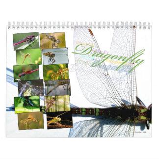 A+ Beautiful Dragonflies Wall Calendar