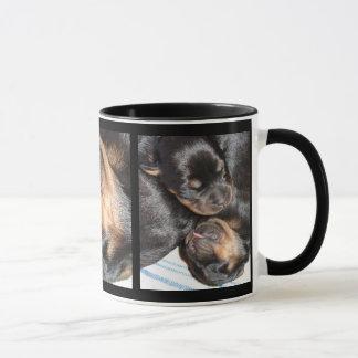 A Beautiful Dreamer - Rottweiler Puppies Mug