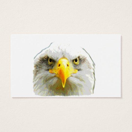 A Beautiful Eagle Business Card