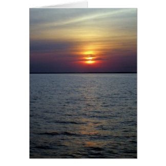 """""""A Beautiful Ending to a Perfect Day"""" Stationery Note Card"""