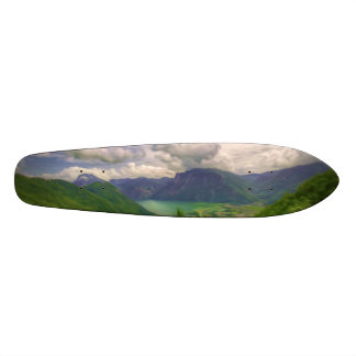 A Beautiful Lake Called Green Lake In Austria Skateboard Deck