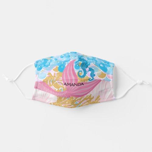 A Beautiful Mermaid Life ââï Cloth Face Mask