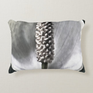 A beautiful Peace Lily Accent Pillow