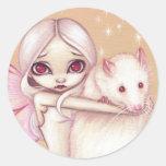 """A Beautiful Rat"" Sticker"
