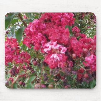 A Beautiful Red Myrtle Mouse Pad
