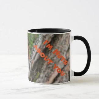 A beautiful Red Squirrel Mug