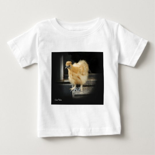 a beautiful Silkie Bantam Chicken picture. Baby T-Shirt