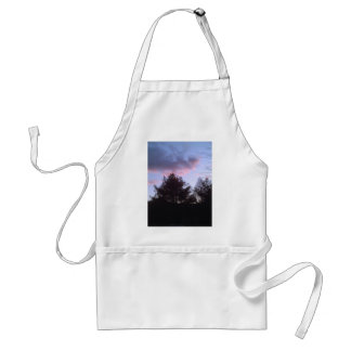 A beautiful sky adult apron