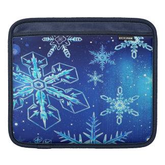 A Beautiful Snowstorm iPad Sleeve