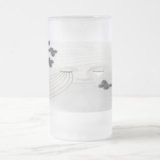 A Beautiful Sorrow Frosted Glass Beer Mug