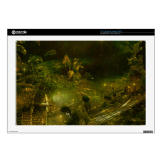 """A Beautiful South Pacific Paradise 17"""" Laptop Skins"""