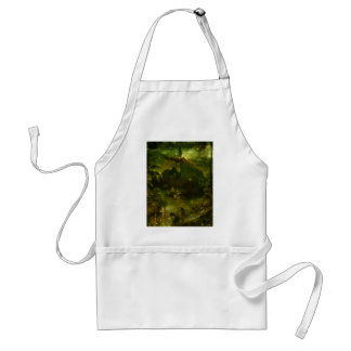 A Beautiful South Pacific Paradise Adult Apron