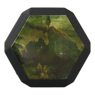 A Beautiful South Pacific Paradise Black Bluetooth Speaker