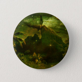 A Beautiful South Pacific Paradise Button