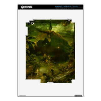 A Beautiful South Pacific Paradise Decals For iPad 3