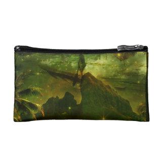 A Beautiful South Pacific Paradise Makeup Bag
