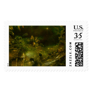A Beautiful South Pacific Paradise Postage