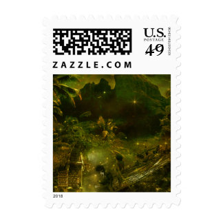 A Beautiful South Pacific Paradise Stamps