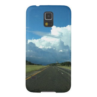 A beautiful storm galaxy s5 covers